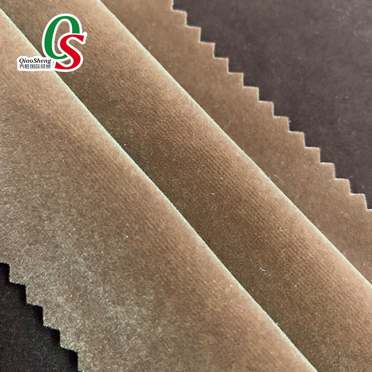 100%Nylon flock fabric,tricot velvet flocking fabric for jewelry box pouch