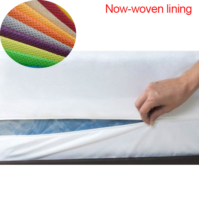 nonwoven Interlining 100%  PP spunbond nonwoven fabric for bed mattress/sofa no fillers  PP nonwoven
