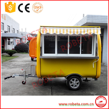hand push food cart for sale/hot dog cart mobile food/mobile food cart design