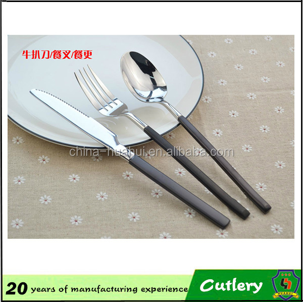 New stainless steel cutlery/China dinner sets in pakistan/kids cutlery set