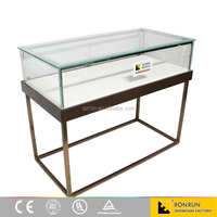 Famous brand jewelry shop counter design ,glass jewelry display table ,jewelry display furniture