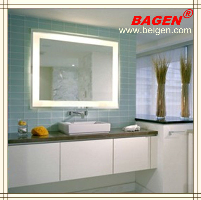 Bathroom Set Mirror With Light Defogger 17years Supply For Hotels