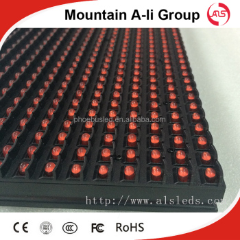 IP65 waterproof P10 outdoor led module R/G/B/Y/W available