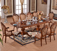 dining room furniture sets /teak wood price wood logs big table and chair/can strstch table