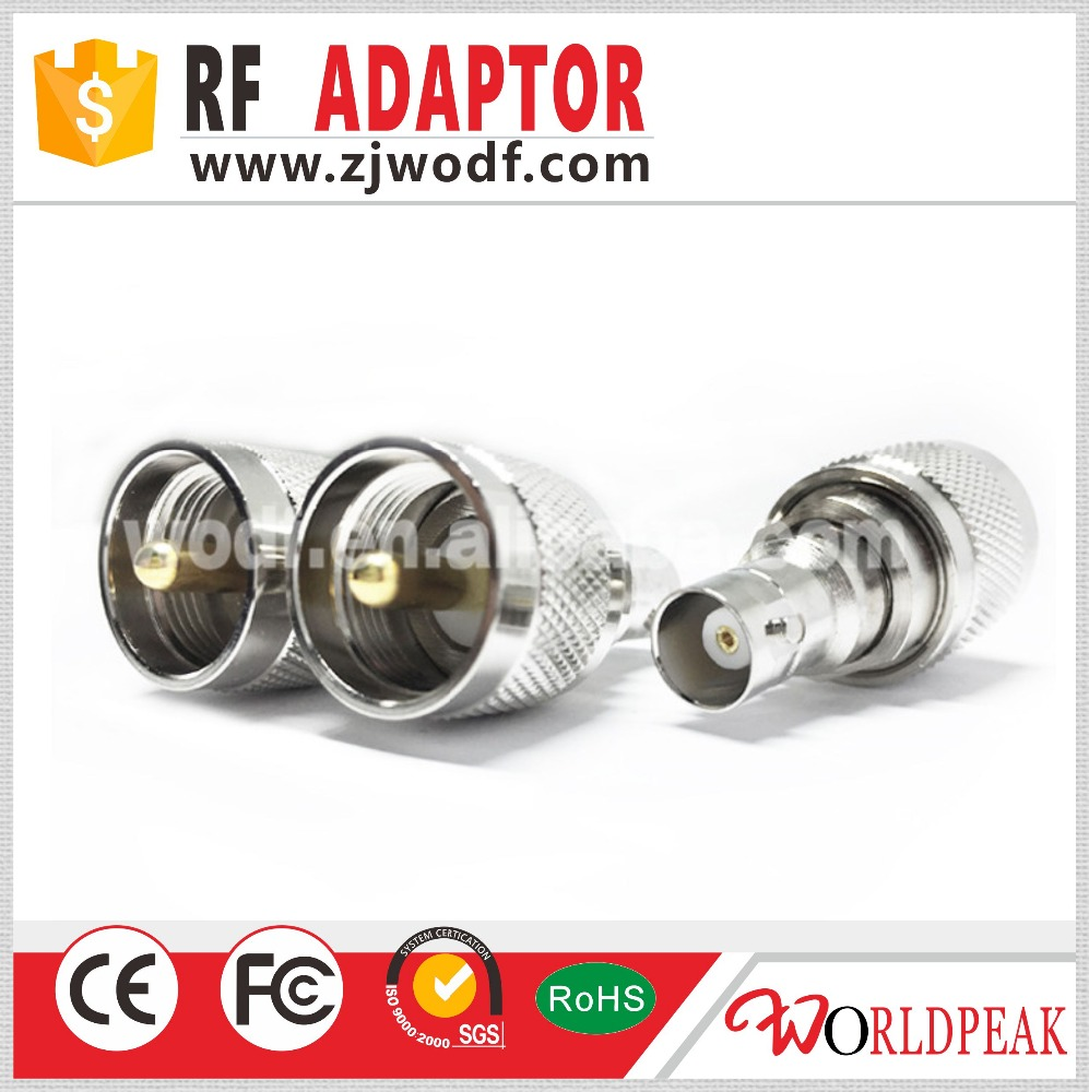 BNC Female to UHF Male adapter rf connector made in china