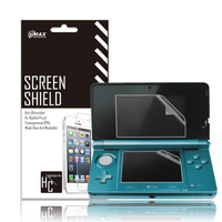 HD Clear High Clear/Transparent Anti-Glare Game Player screen protector film for Nintendo 3ds