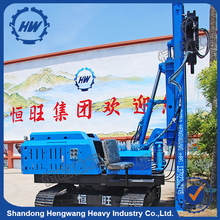 Solar System Crawler Post Ramming Pile Machine Made In China