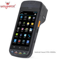 waypotat industrial pda smartphone support barcode nfc gps android 4.3 i6200s