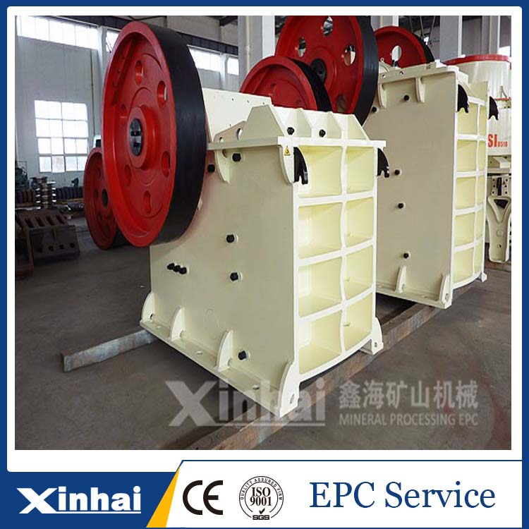 China high efficiency mining jaw crusher machine / jaw crusher specifications