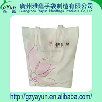 shopping canvas reusable wholesale custom barrel bag