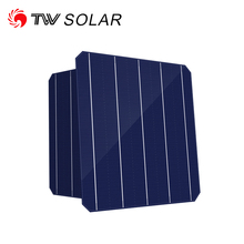 TONGWEI TW solar Listed Company a grade 5BB 20.1% 4.91W 156.75x156.75 not 156x156 monocrystalline solar cell price
