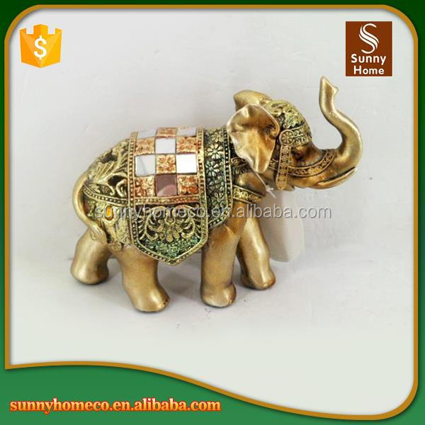 Resin Indian Elephant Figurines