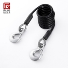 Car emergency hooks galvanized steel wire tow rope