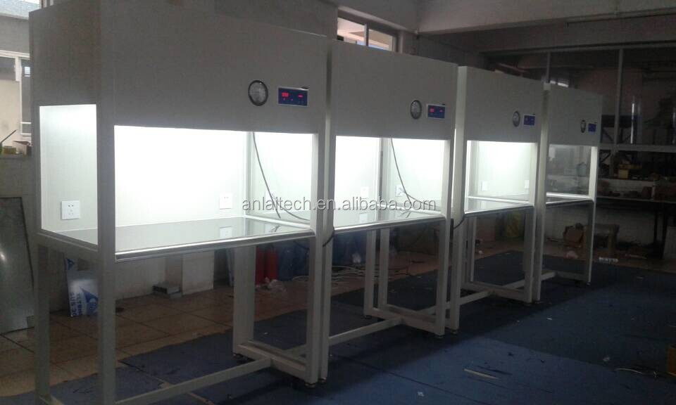 Laminar flow cabinet clean work stations for cell phone repair