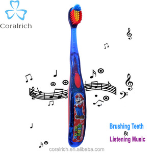 Electric Toothbrush Custom Made Music For Kids Toothbrush