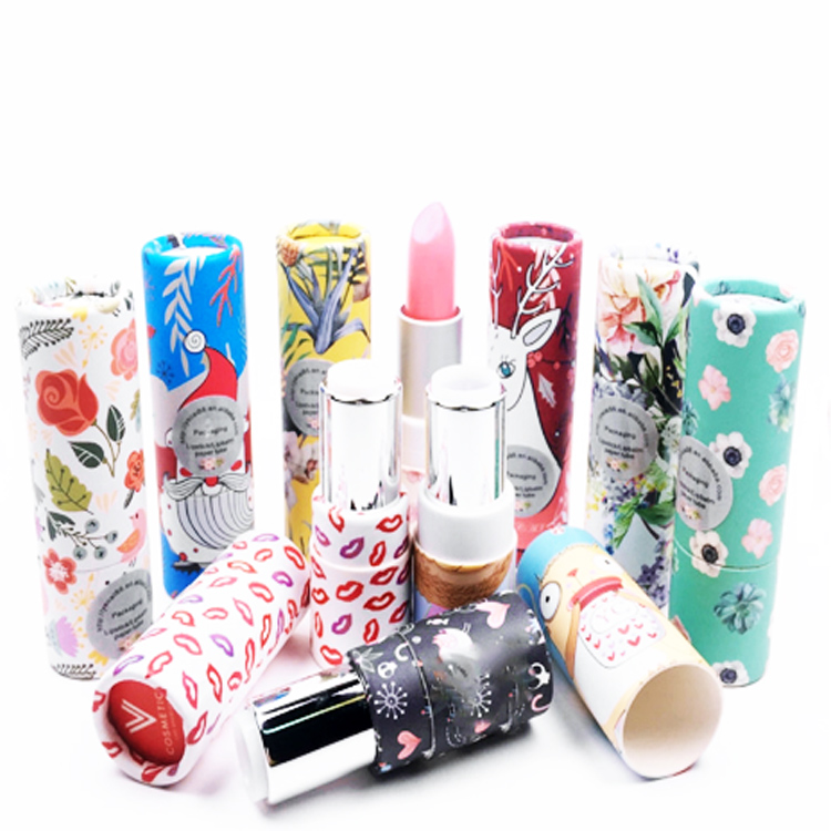 2018 New arrival custom paper <strong>tube</strong> for lip balm , best sale cardboard paper lipstick <strong>tube</strong>