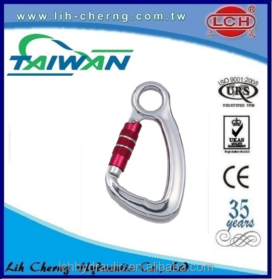 75mm 10t crane hook 8 shaped carabiner 800kg galvanized closed s hooks