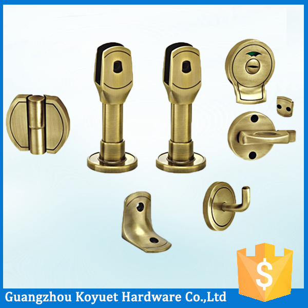 Bathroom Toilet Cubicle Vacant Engaged Indicator Door Lock