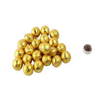 gold chocolate ball candy