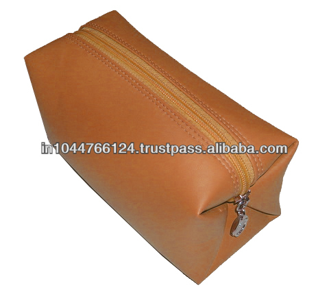 Cosmetic Bags For Makeup / new cute makeup bags custom / Classic Cosmetics Bags For Ladies Made Of Genuine Leather