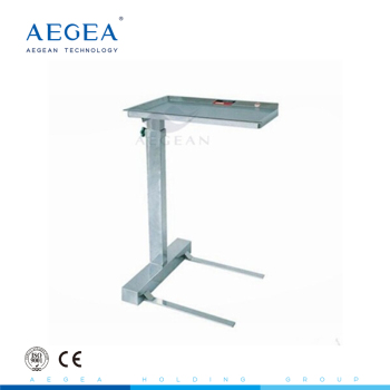 AG-SS008B high technology and convenient operating instrument trolley with stainless steel material