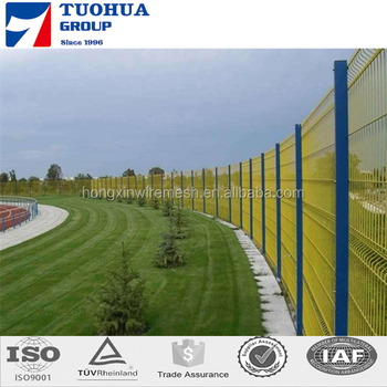 Triangle Welded Fence,Curvyed Welded Wire Mesh Fence