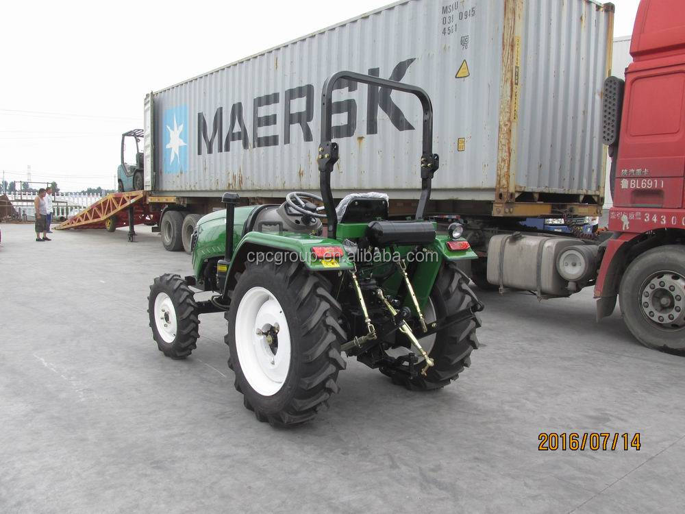 weifang CP machinery agricultural equipment 4x4 40HP 4 wheel tractor kubota price