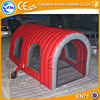 White inflatable paint booth, inflatable spray booth for sale