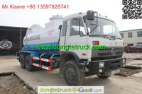 Dongfeng 6X4 sewage suction tanker truck,Suction sewage truck,high-pressure sewer flushing vehicle
