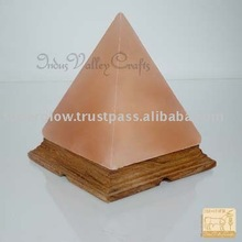 Pyramid Salt Lamp,Night Lighting  Lamp,Crystal Lamp