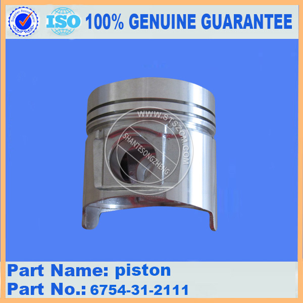 excavator spare parts,PC200-8 piston 6754-31-2111 stock available