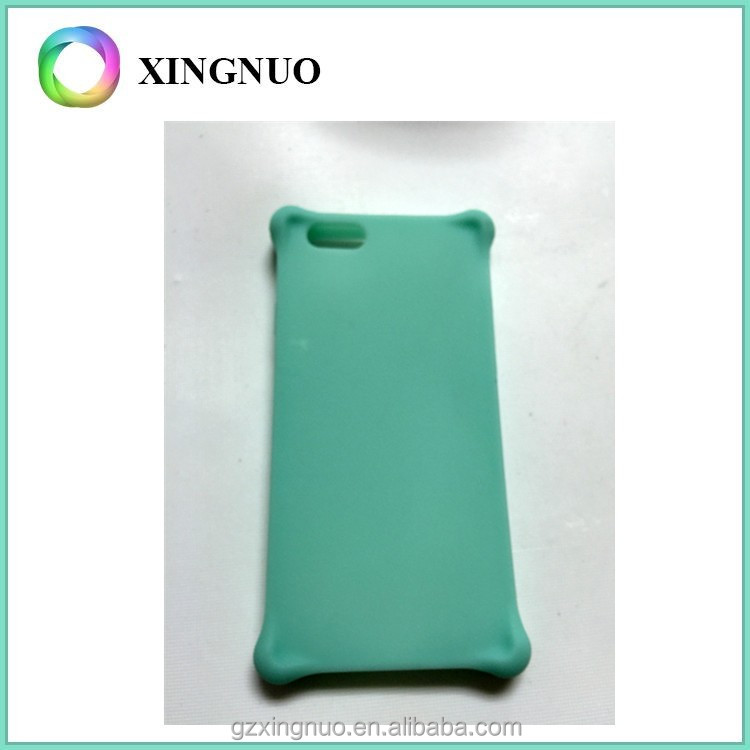 Customzied printed Blank silicone rubber phone case for iphone 6 plus