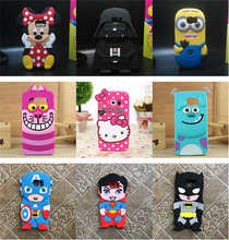 Cover case For Samsung Galaxy S6 Edge G9250 Y6 G8 3D cute images silicone phone cases