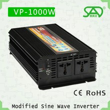 kbm power inverter dc to ac power inverter, 1000w modified sine wave inverter, car power inverter