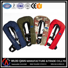 CO2 Gas Cylinder Inflating Life Vest/Life Jacket For Kayaking