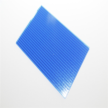 transparent/colored 6 mm pc polycarbonate sunshine sheet/hollow sheet for building