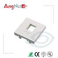 Free sample french Standard 45X 45mm face plate rj45 faceplate