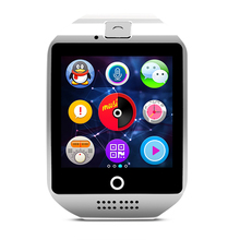 dual way call unique bluetooth android Q18 Smart Watch sim with net work