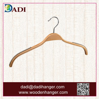 plywood hangers with transparent anti-slip strip