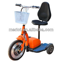 3 wheels handicapped mobility scooter with trailer