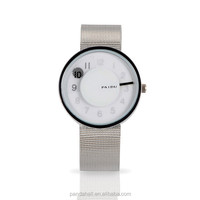 Stainless Steel Mesh Belt Wrist Watch PAIDU Ladies Watches