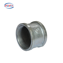 Cold Galvanized iron Coupling Female Thread Fittings 1/2 bsp socket