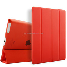 High end 9.7 Inch ultra-thin foldable leather smart Cover case for Ipad 2 3 4 , for ipad 2 3 4 case Flip Leather tablet case
