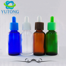 30ml 60ml round /square aromatherapy essential oil cosmetics packing frosted dark /amber glass dropper bottle