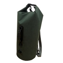 20L 30L 40L Outdoor Camping TPU Army Green Color Waterproof Military Nylon Dry Bag With Air Valve