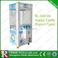 Europe CE catching toy claw crane game machine