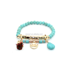 Fashion Turquoise bracelet beads Wholesale BJ-0073