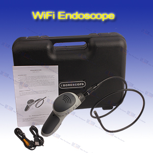WITSON portable endoscope system with WiFi function,8.0mm camera head with built-in 4LEDs(W3-CMP3816W)