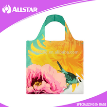 New style 210D wholesale cheap polyester folding shopping recycle bag