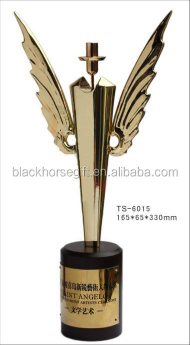 decorative male angel robot dancer trophies and awards